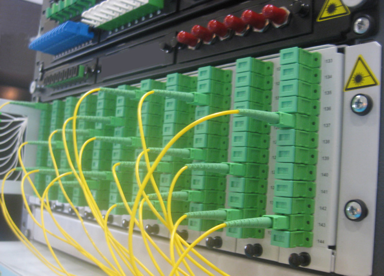 China Fiber Optic Connector Patch Cable Patch Panel