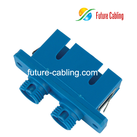 Wholesale Cheap Sc Fc Hybrid Fiber Optic Adapter Duplex