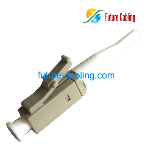 Fiber Connector on Fiber Optic Connector Simplex Multimode 0 9mm Boot Part No Foc Lc Sx