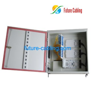 64 Fiber FTTH Splitter Distribution Box