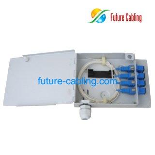 4-Fiber FTTH Terminal Box, Metal