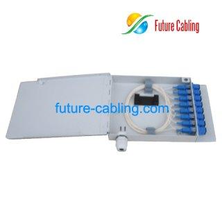 8-Fiber FTTH Terminal Box, Metal