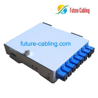 FTTH Terminal Box, 8 Port, Metal