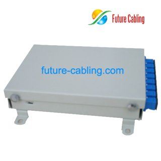 FTTH Fiber Optic Terminal Box, 4 Port, Metal