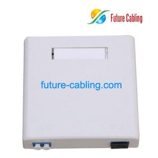 SC Fiber Optic Mounting Box, 2 Port