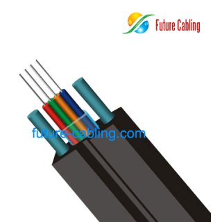 FTTH Bow-Type Drop Optical Fiber Ribbon Cable