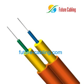 Duplex Flat Indoor Fiber Optic Cable I