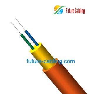 Duplex Round Indoor Fiber Optic Cable I