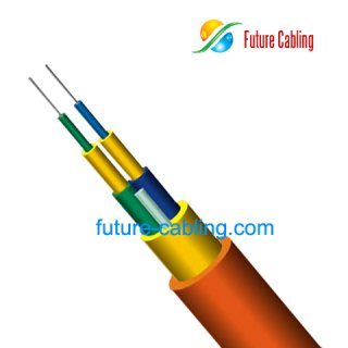 Duplex Round Indoor Fiber Optic Cable II