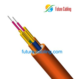 Duplex Round Indoor Fiber Optic Cable III