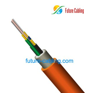 Duplex Round Indoor Fiber Optic Cable IV