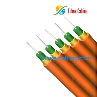 4-Fiber Parallel Indoor Fiber Optic Cable