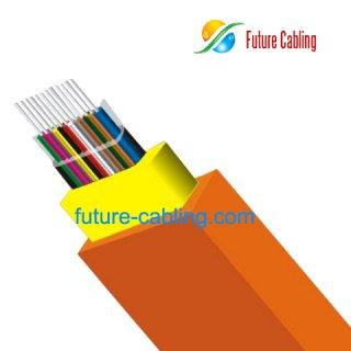 Flat Optical-Fiber-Ribbon Indoor Cable I