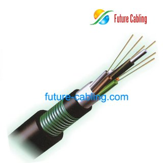 Double Armored & Sheathed Loose Tube Outdoor Cable --GYTA53