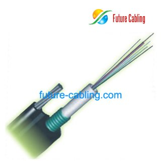 Figure 8 Self-supporting Stranded Central Tube Outdoor Cable--GYXTC8S