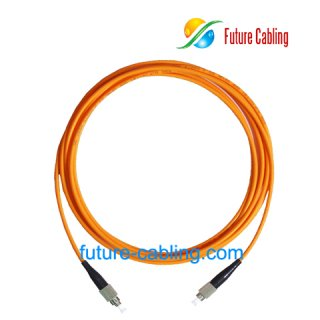 FC-FC Fiber Optic Patch Cords, Simplex, Multimode, 62.5/125um, 3.0mm, XX Meter