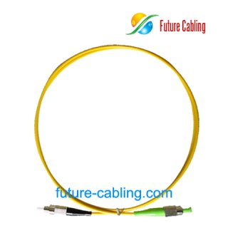 FC/PC-SC/APC Fiber Optic Patch Cords, Simplex, Singlemode, 9/125um, 3.0mm, XX Meter