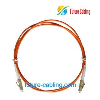 LC-LC Fiber Optic Patch Cords, Simplex, Multimode, 62.5/125um, 3.0mm, XX Meter