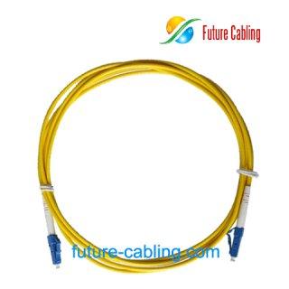 LC-LC Fiber Optic Patch Cords, Simplex, Singlemode, 9/125um, 3.0mm, XX Meter
