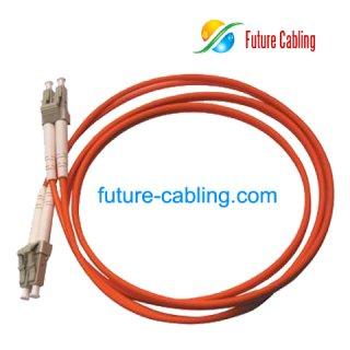 LC-LC Fiber Optic Patch Cords, Duplex, Multimode, 62.5/125um, 3.0mm, XX Meter