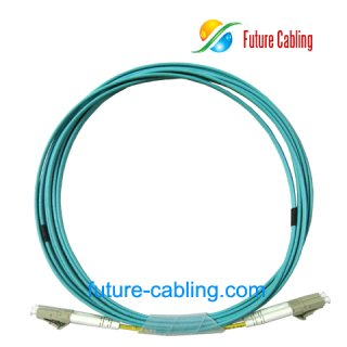 LC-LC 10 Gigabit Fiber Optic Patch Cords, Duplex, Multimode, 50/125um OM3, 2.0mm, XX Meter