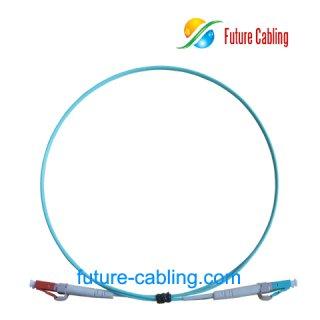 LC-LC 10 Gigabit Fiber Optic Patch Cords, Simplex, Multimode, 50/125um OM3, 2.0mm, XX Meter