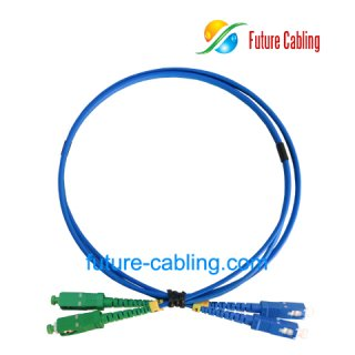 SC/PC-SC/APC Armored Fiber Optic Patch Cords, Duplex, Singlemode, 9/125um, 3.0mm, XX Meter