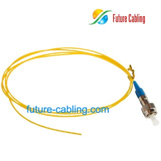 FC Fiber Optic Pigtail, Singlemode, 0.9mm
