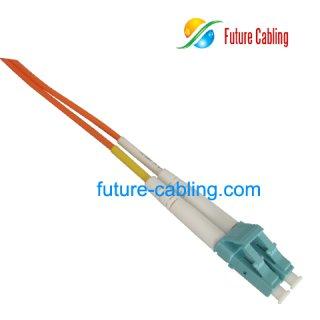 LC Color Coded Fiber Optic Patch Cords, Aqua