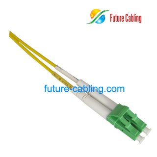 LC Color Coded Fiber Optic Patch Cords, Green