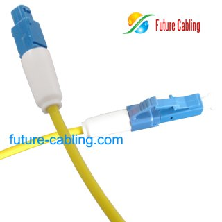 LC Short Boot Fiber Optic Patch Cords