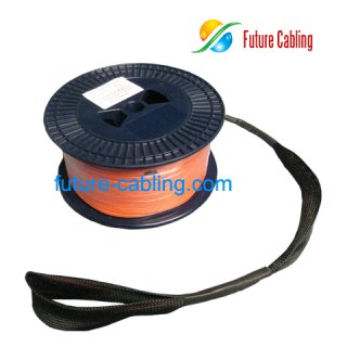 SC-SC Fiber Optic Pulling Eye Cable Assembly, Duplex, Multimode, 62.5/125um, with 2.0mm Branch, XX Meter