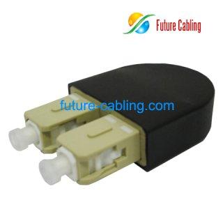 SC Fiber Optic Loopback Module, Multimode