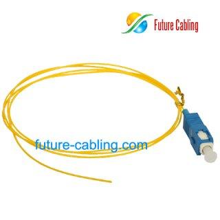 SC Fiber Optic Pigtail, Singlemode, 0.9mm