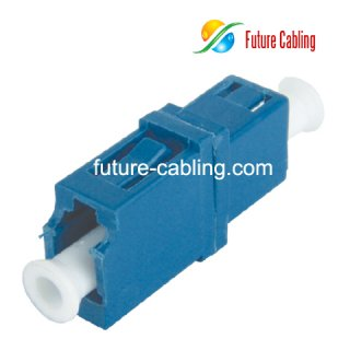 LC Fiber Optic Adapter, Simplex, Singlemode
