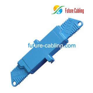 E2000 Fiber Optic Adapter, Simplex, Singlemode