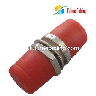 FC Fiber Optic Adapter, Simplex, Singlemode, Small D Style