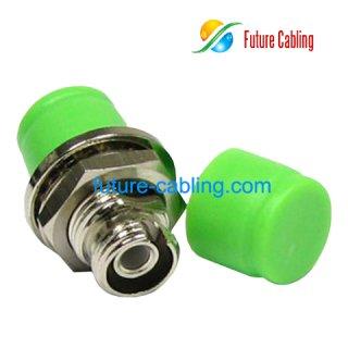 FC/APC Fiber Optic Adapter, Simplex, Singlemode, D Style