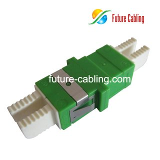 LX.5/APC Fiber Optic Adapter, Duplex, Singlemode