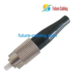 FC Fiber Optic Connector, Multimode, 3.0mm Boot
