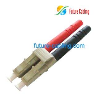 LC Fiber Optic Connector, Duplex, Multimode, 3.0mm Boot