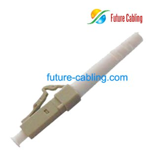 LC Fiber Optic Connector, Simplex, Multimode, 3.0mm Boot