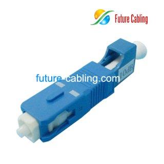 SC Male to LC Female Hybrid Fiber Optic Attenator, 10dB