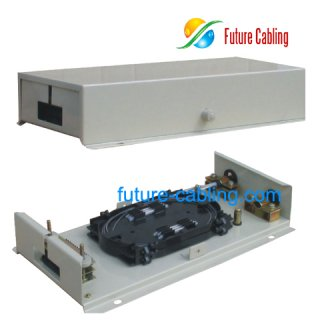 Fiber Optic Terminal Box, 24 Fiber, Pigtail Type