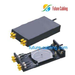 Fiber Optic Terminal Box, 8 Port, Suit for ST Fiber Optic Adapter