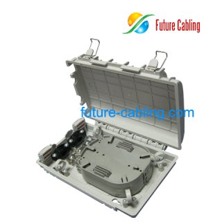 Fiber Optic Terminal Box, 12 Fiber, Pigtail Type