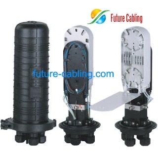 Fiber Optic Splice Closure, 4 Port, 72 Fiber in Maximum