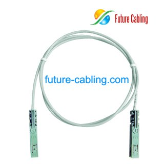 1 Pair 110 to 110 Patch Cords, 1 Meter