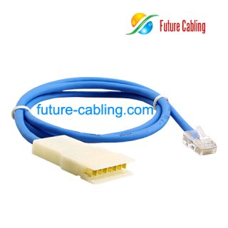 4 Pair 110 to RJ45 Patch Cable, 1 Meter