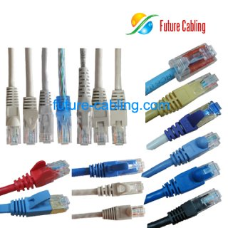 Various Boot Types for Cat5e and Cat6 Patch Cable